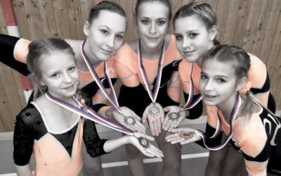 Benátecké gymnastky září i v novém roce